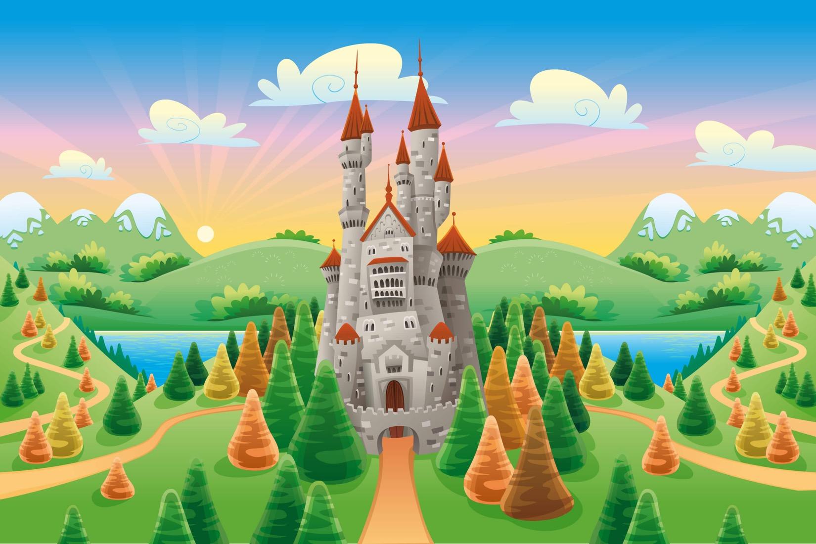 cartoon-castle-childrens-plain
