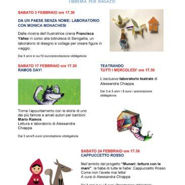 Il calendario degli eventi di Febbraio