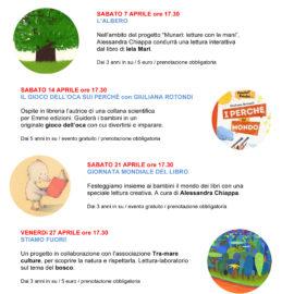 Calendario degli eventi di aprile