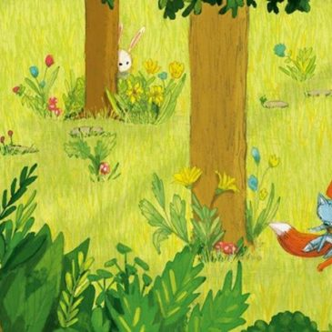 """Sabato 26 maggio – """"Piccola volpe"""" nel giardino di Kamillo"""