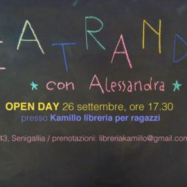 26 settembre: Teatrando – Open Day!