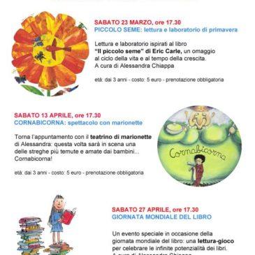 Calendario degli eventi Marzo – Aprile