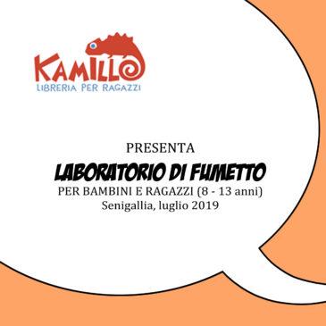 Luglio 2019 – Laboratorio di fumetto