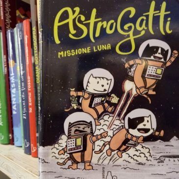 """""""Astrogatti – missione Luna"""" di D. Brockington"""
